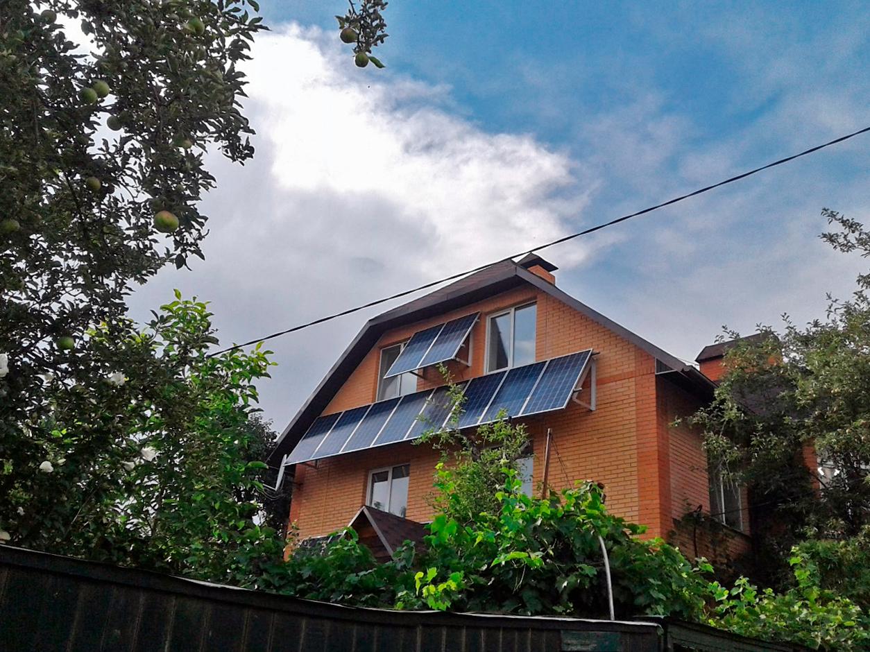 Практическое решение интеграции теплового насоса и солнечной фотовольтанической станции