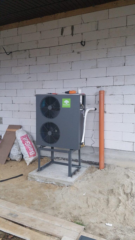 Типовой проект по отоплению дома на 170 кв метров на базе теплового насоса  Mycond Basic 065